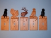 Custom Hand Carved Animal Light Switch Cover