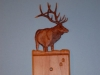 Custom Hand Carved Elk Light Switch Cover