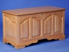 Tiger Striped Maple Custom Built Cedar Chest