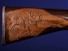 Custom Carved Elk Gun Stock