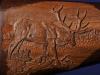 Close up on Carved Elk