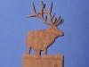 Custom Hand Carved Elk Light Switch Cover