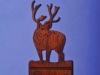 Custom Mule Deer Light Switch Cover