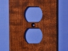 Custom Cherry Electrical Cover Plates