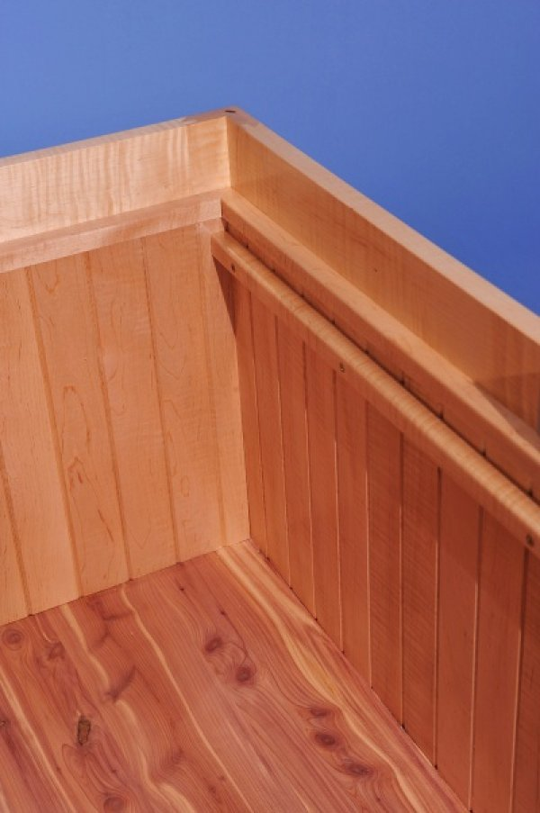 Inside Maple Cedar Chest