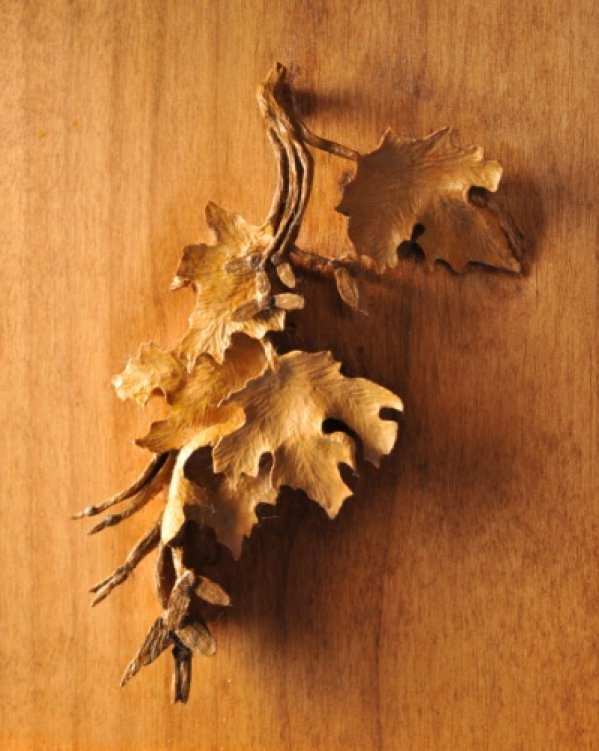 Leaves on Horse Mantle