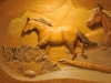 Carved horse 1