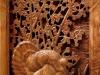 Close up to Turkey carved pedestal