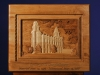 Custom Carved LDS Manti Temple