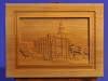 Custom Carved LDS St George Temple