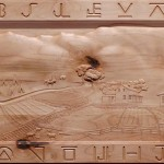 Fayette town carving